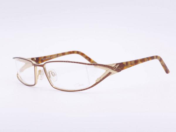 Bernstein Bronze Farben Cazal Vintage Damen Brille edle Luxus Fassung Modell 4163 Deutschland 90er Jahre Cari Zalloni GrauGlasses