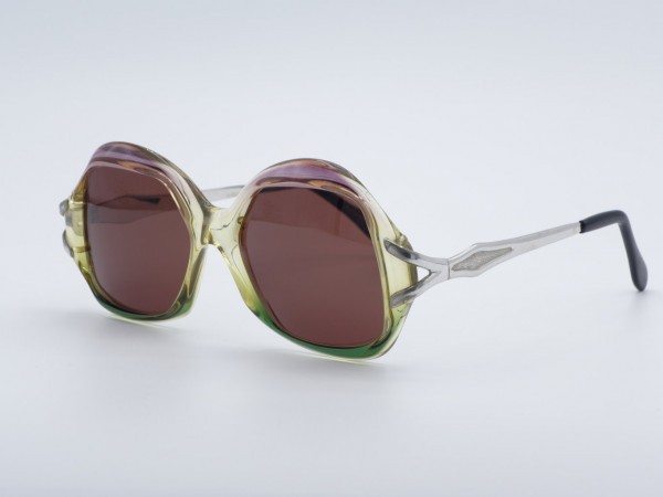 MCS Lewis Jet Line Woman 80s Vintage Sunglasses Metric Oversized Ladies Frame