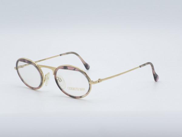 CERRUTI 1881 Ladies Glasses Model 1801 Amber Gold Plated GrauGlasses