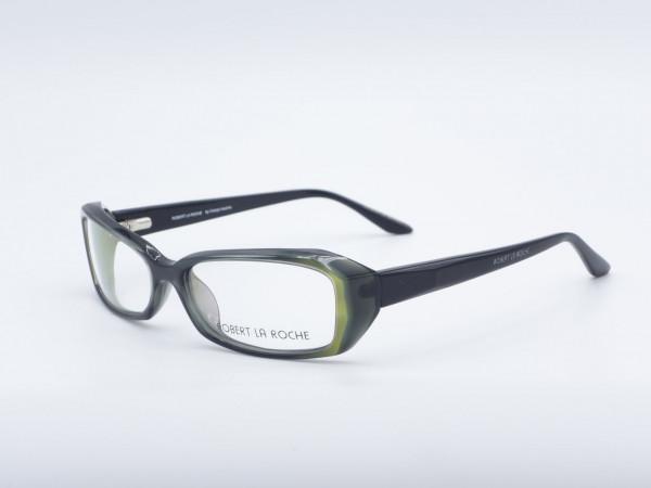 La Roche 711 rechteckige Männer Frau Brille schwarz modernen Rahmen GrauGlasses