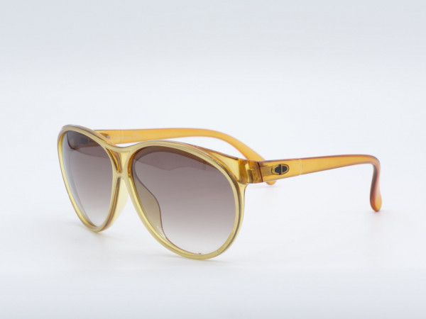 DIOR 2157 Oversized Woman Sunglasses golden Vintage Frame GrauGlasses