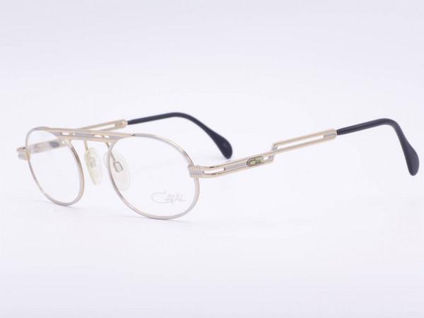 Cazal Mod 762 silver oval men's glasses 90s Cari Zalloni vintage frame new never worn