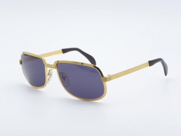 Neostyle Nautic RO20 kleine Version Goldene Metall Sonnenbrille Vintage Rahmen 80er GrauGlasses