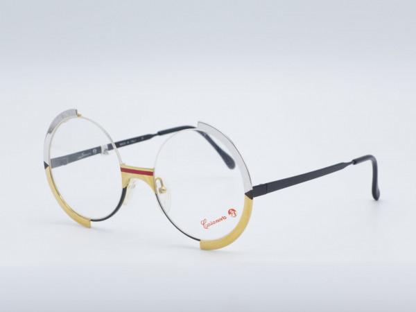 Casanova FC4 round rare woman glasses metal frame Vintage gold silver GrauGlasses