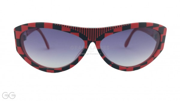 Silhouette sunglasses red/black model M3041/20 Color 2729