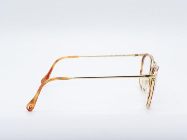 CERRUTI Herren Brille Modell 1501 Bernstein Gold Plated GrauGlasses